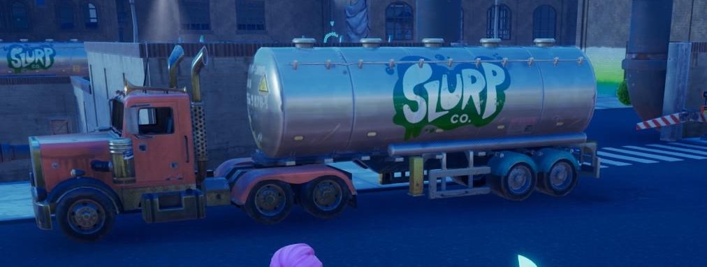 トラックのタンク