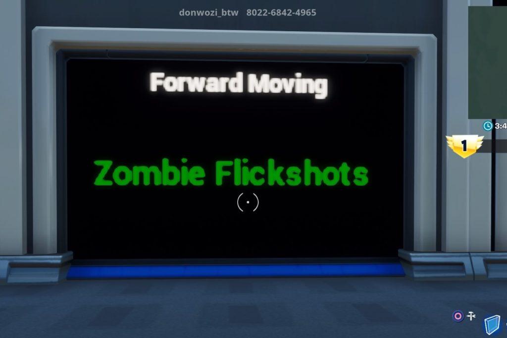 Forward Movingコース入り口