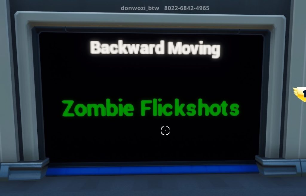 Backward Movingコース入り口