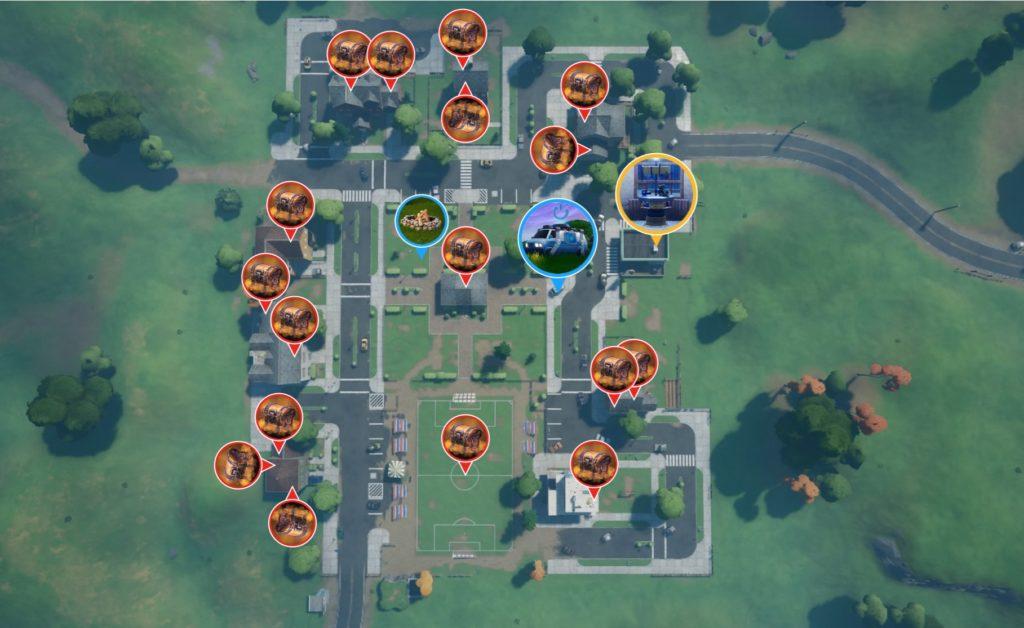 プレザント・パーク マップ