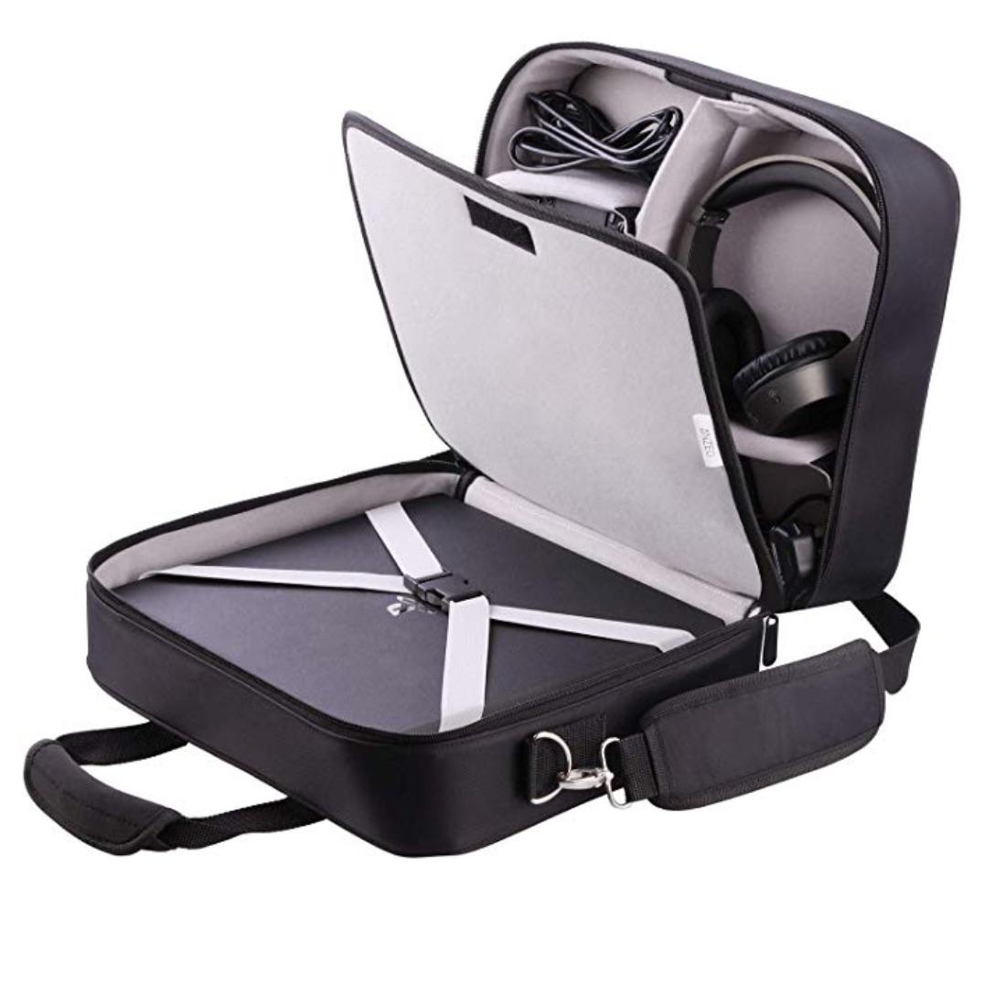PS4の持ち運びにおすすめなキャリーバッグ、モバイルディスプレイ