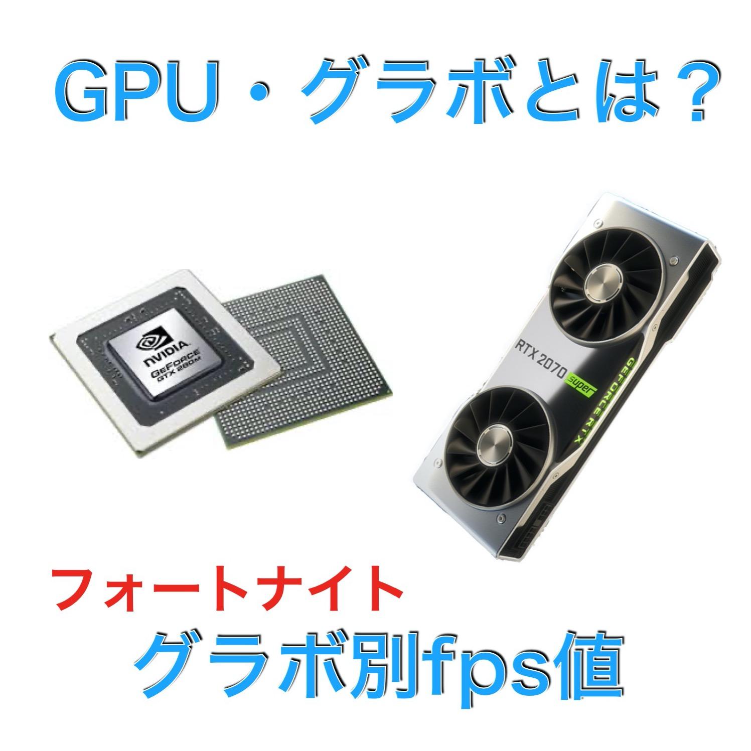 GPU・グラボとは