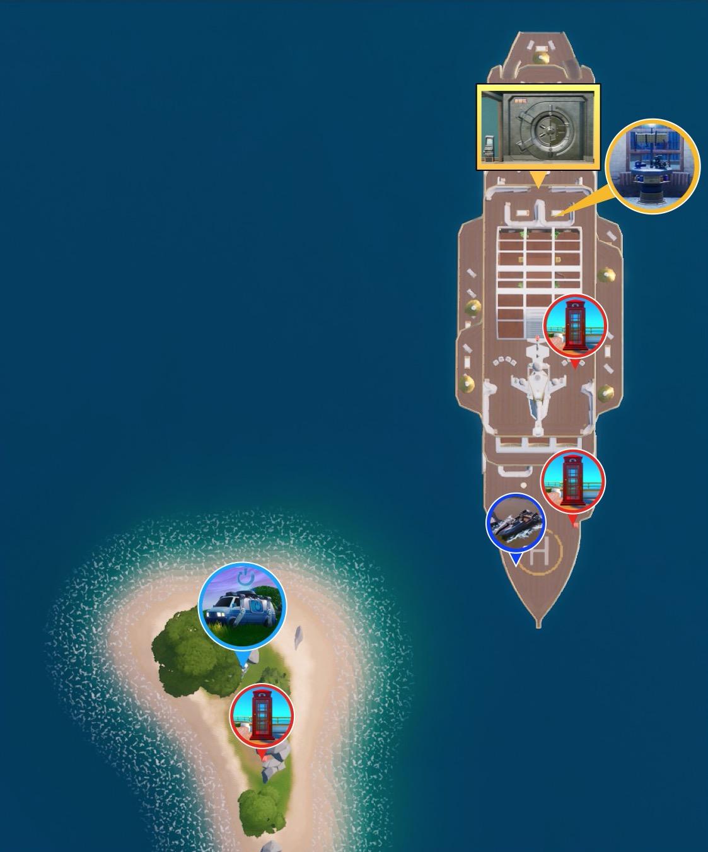 フォート ナイト ザ ヨット