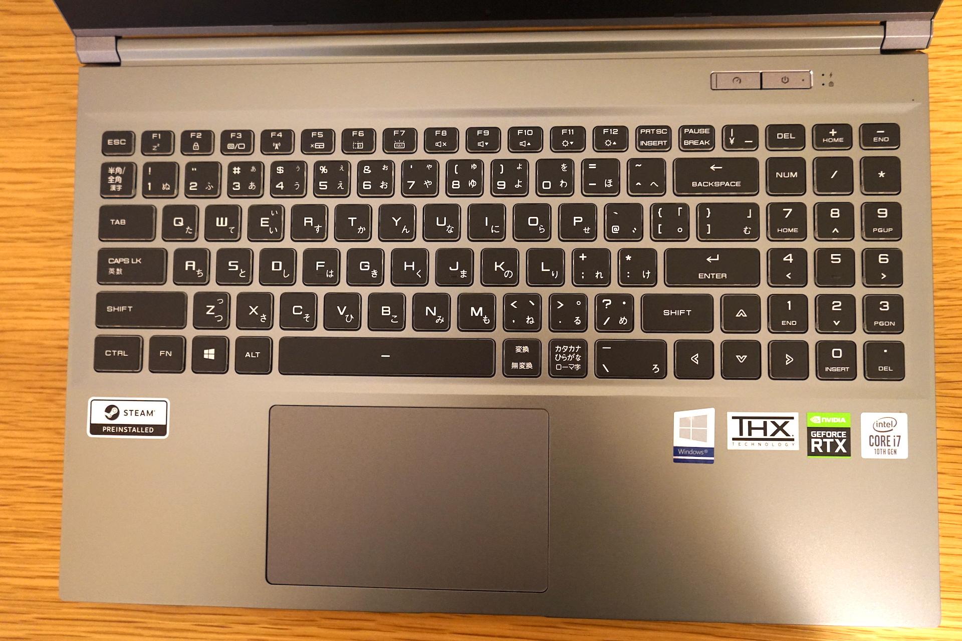 GCL2060RGF-T_キーボード