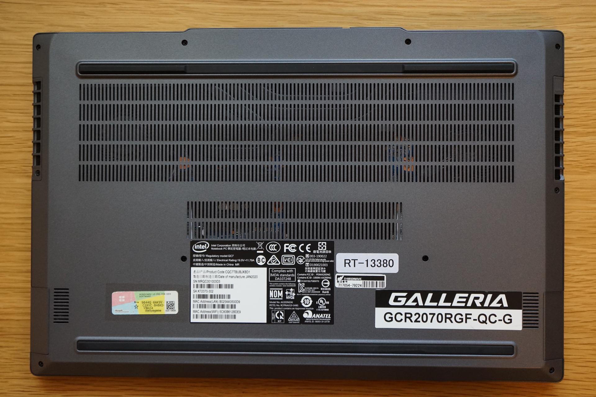 GCR2070RGF-QC_背面