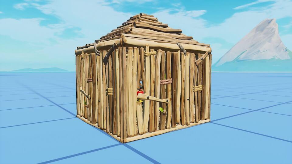 木のボックス